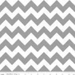 Chevron in Gray - by Riley ..