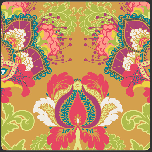 Rhapsodia - Artisan in Ruby - by Pat Bravo for Art Gallery Fabrics - 1 Yard