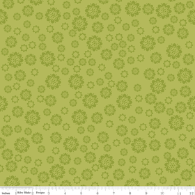 Verona - Flowers in Green - by Emily Taylor Designs for Riley Blake - 1 Yard